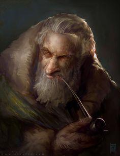 Wizard by ArtofTy on DeviantArt