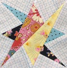 Sew Some Sunshine: Delilah Quilt - Block 12
