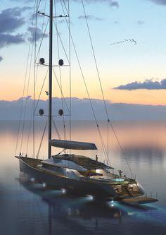 Esenyacht reveals first images of 50 metre Troy sailing yacht - Under Construction - SuperyachtTimes.com