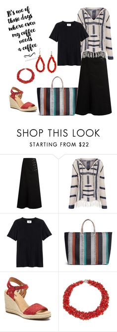 """""""Morning Joe"""" by julie-geoffrion ❤ liked on Polyvore featuring E L L E R Y, Anna Kosturova, TRUSS and SONOMA Goods for Life"""