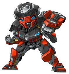 Autobot Hot Rod by benisuke