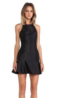 keepsake Freedom Dress in Black   REVOLVE