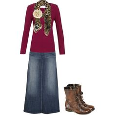 """""""Modest Outfit 33"""" by christianmodesty on Polyvore"""