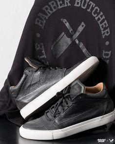 Premium Sneaker ''Son of Blades'' in black/white