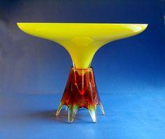 IOSA GHINI Retro Future Bacchanalo 40cm Ritzenhoff 1993 Signiert + Zertifikat