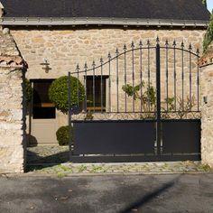 poratail | Menuiseries extérieures Les portails Les portails coulissants Les ...