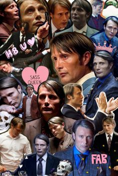 what the hell are these collages called? hannibal ~iphone 4 wallpaper