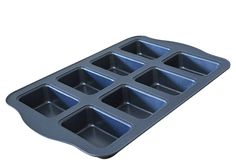 Fasmov 8-Well Nonstick Loaf Pan,Mini => See this awesome image  : Bread and Loaf Pans