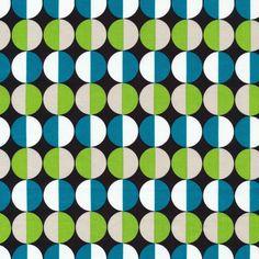 Bola   Azul :: Mixteca by Eleanor Grosch for Cloud9 Fabrics
