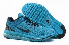 Nike Air Max 2013 Breathe Malla claro / azul / negro http://www.esnikerun.com/