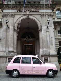 Luxury hotel, The Langham, London, has appointed Transport Media to run a full taxi livery campaign in central London. Taxi Advertising, Langham Hotel, Hotel Branding, London Transport, City Streets, Edinburgh, Transportation, Around The Worlds, Facebook Likes
