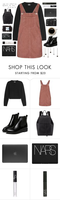 """[19]"" by voidelle ❤ liked on Polyvore featuring Anthony Vaccarello, Topshop, WithChic, philosophy, Mansur Gavriel, Incase and NARS Cosmetics"