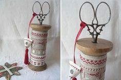 Как не съехать с катушек :) Идеи применения катушек в декоре - Ярмарка Мастеров - ручная работа, handmade