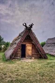 Traditional Viking hut at Trelleborg Viking Market, Sweden. Photo: René Eriksen on 500px
