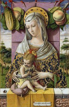 Карло Кривелли. Мадона с Младенцем