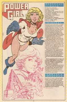 Power Girl A