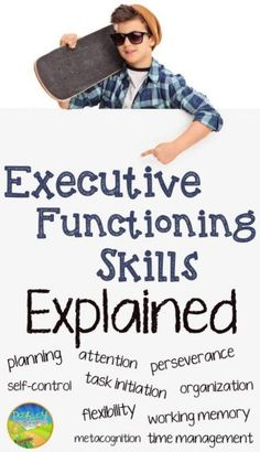 Executive Functioning Skills - Executive functions are essentially the building blocks for completing all tasks in life (in school and beyond). Any educator can help to teach and support these critical skills. Social Emotional Learning, Social Skills, Social Issues, Social Work, Study Skills, Life Skills, Coping Skills, Professor, Adhd Strategies