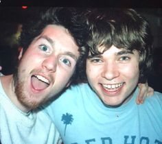 Young Dan and Woody. (From Dan's twitter)