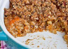 IMG 1436 21   Sweet Potato Oatmeal Breakfast Casserole