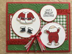 November 2017 Santa's Suit Stampin' UP!   Stampin' Up! Holiday ...