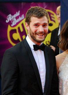 Sweet Jamie on the red carpet of BAFTA TV AWARDS 2014