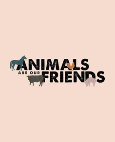 Animals Are Our Friends Short Sleeve Kids Tee.   The kids' version of our most popular adult T-shirt.  #Sevenly + Gentle Barn #ShopForACause ❤️