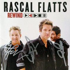 Rascal Flatts - Rewind - Autographed