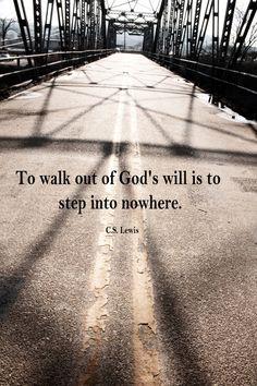 C.S. Lewis Quote.