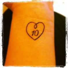 Definite possibility - Infinity Love tattoo but with a 21 inside
