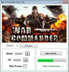 The WAR COMMANDER HACK is ready for download. Use WAR COMMANDER HACK working…