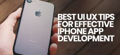 UI/UX Tips for Effective #iPhoneAppDevelopment ------  User Interface (UI) and User Experience (UX) so that the iPhone app can attract more number of customers. Apple's App Store has right now more than 2 millions apps. Here are some best tips effective UI & UX for your app. #iPhonedevelopment #iPhonedeveloper #iOSApp #UIUX #appdevelopment
