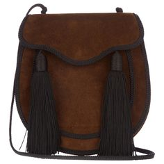 Accessories Alert: Brown Is the New Black for Fall - Saint Laurent Bag from InStyle.com
