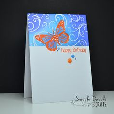 Happy Little Stampers: Butterfly Birthday by Sarah