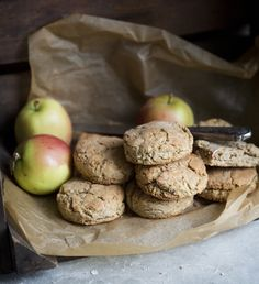 Apple & Oat Biscuits