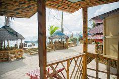 Corn Islands, des îles paradisiaques au Nicaragua (Detour Local) -> La vue de notre balcon sur Little Corn Island, Nicaragua. Chez Grace's Cool Spot www.detourlocal.com/corn-islands-des-iles-paradisiaques-au-nicaragua/