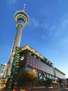 SKYCITY Hotel Auckland Auckland Located in the heart of Auckland CBD (Central Business District), next to the iconic Sky Tower and SKYCITY Casino, SKYCITY Hotel Auckland offers beautifully appointed rooms and suites with free WiFi, a 37-inch flat-screen TV and an iPod docking...
