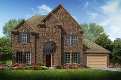 Welcome to Richmond TX Home Search - Two story Dale home design features 4 bedrooms, baths and 3 car garage. Cabin, House Styles, Rose Quartz, Home Decor, Decoration Home, Room Decor, Cabins, Pink Quartz, Cottage