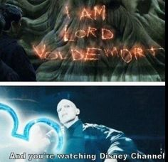 "Harry Potter << This is perfect, and I love the Disney Channel meme with Loki as well, but there also needs to be a Severus Snape one. ""I'm the Half-Blood Prince, and you're watching Disney Channel. Harry Potter Humor, Harry Potter Funny Tumblr, Harry Potter Stuff, Harry Potter Friendship Quotes, Harry Potter List, Harry Potter Imagines, Harry Potter Universal, Memes Humor, Funny Memes"
