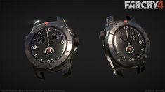 Far Cry 4 : Ajay's Watch, Greg Rassam on ArtStation at http://www.artstation.com/artwork/far-cry-4-ajay-s-watch