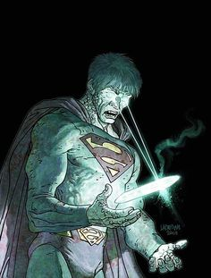 ladronn art | Jose Ladronn - Bizarro (Superman)