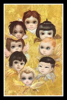 """The Angels"" ~ Margaret Keane, 1963"