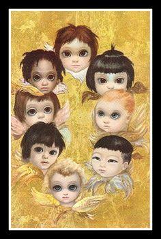 """The Angels"" ~ Margaret Keane, 1963"