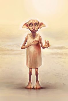 We all want to be as free as Dobby.