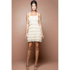 US$ 2,990.00 - Off Boho Crochet Dress - Vanessa Montoro USA - vanessamontorolojausa