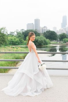 Hayley Paige Dori Ball Gown | Artistrie Co. https://www.theknot.com/marketplace/artistrie-co-chicago-il-396240