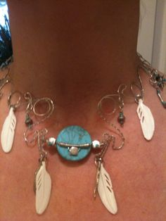 Necklace Native American necklace by thersmith