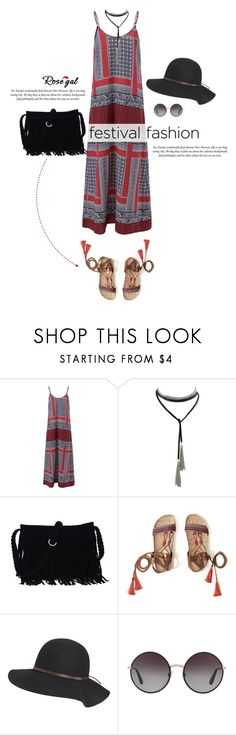 """""""Rosegal 14"""" by cly88 ❤ liked on Polyvore featuring Hollister Co., Billabong, Dolce&Gabbana, fringe, trend, festivalfashion, polyvorecontest and rosegal"""