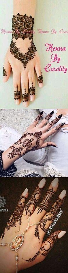 Pakistani Famous Henna Art