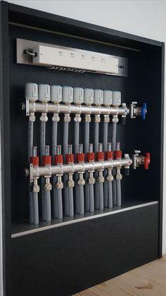 One for Gary Home Heating Systems, Underfloor Heating Systems, Hydronic Heating, Bathroom Plumbing, Plumbing Pipe, Mechanical Room, Garage Floor Epoxy, Plumbing Installation, Heating And Plumbing