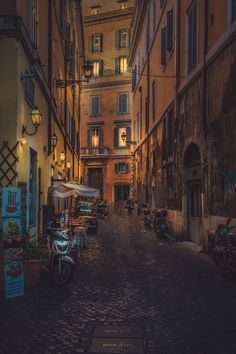 Photograph Side Street by Alex Hill on 500px #Rome